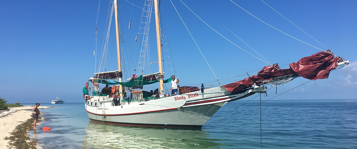 Bloody Pirate | Sailboat Charter Florida Keys | Private Boat
